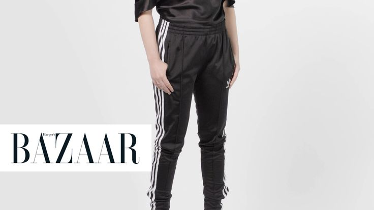 3 Ways to Make Track Pants Sophisticated: In this episode of One Piece Chic, the editors of HarpersBazaar.com show us three ways to style track pants for a night out, the weekend and the office.