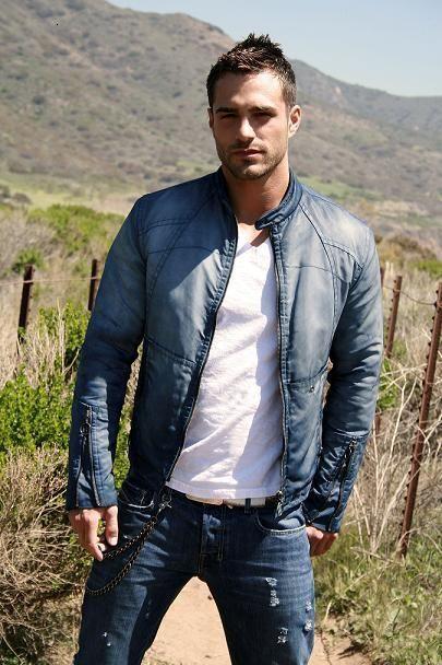 denim and leather jacket