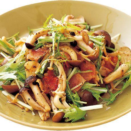 炒めきのこのエスニックサラダ | 井澤由美子さんのサラダの料理レシピ | プロの簡単料理レシピはレタスクラブネット
