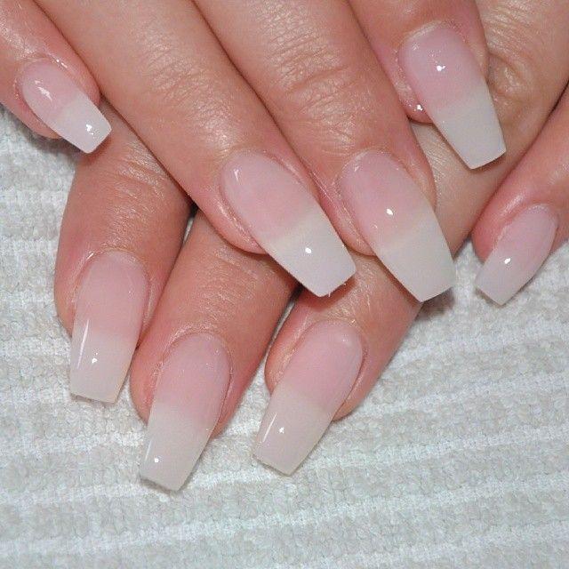 Gel nails i like the length and shape my nails - Pinterest nageldesign ...