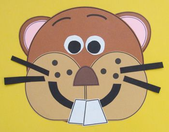 Groundhog Day. Activities to learn about and celebrate Groundhog Day. Groundhog craftivity.