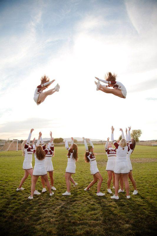 Cheerleader Group Portraits   Utah Portrait Photographers   EK Studios » elisabethkate.com