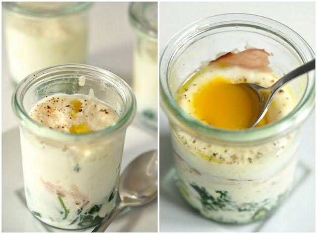 ziiikocht: Kokette Eier im Glas oder Florentinisches Ei en cocotte