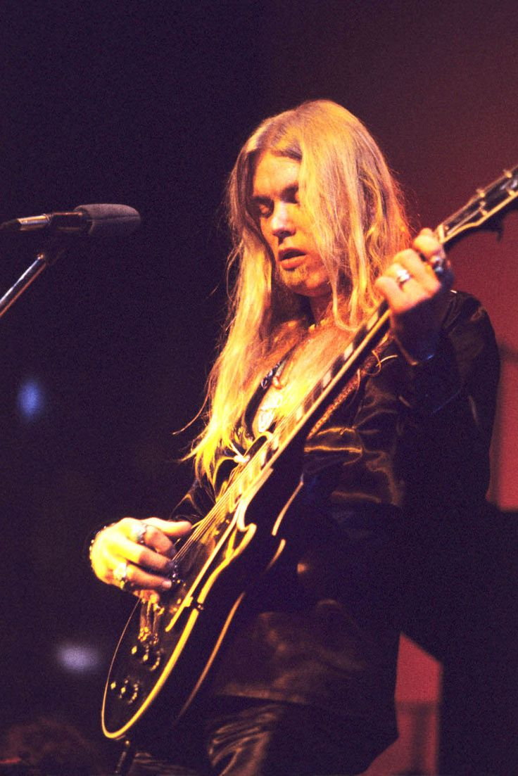 """soundsof71: """" Gregg Allman at the Fox Theater in Atlanta on May 20, 1974, by Tom Hill """""""