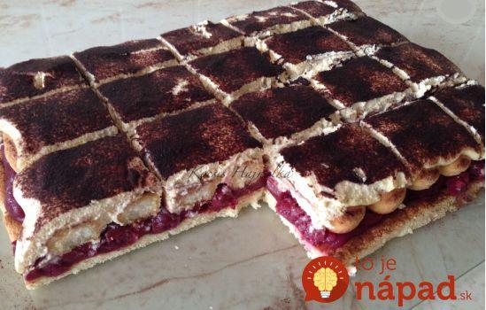 Čerešňovo-šľahačková torta na plechu: Taká úžasná, že zo stola zmizne za pár minút!