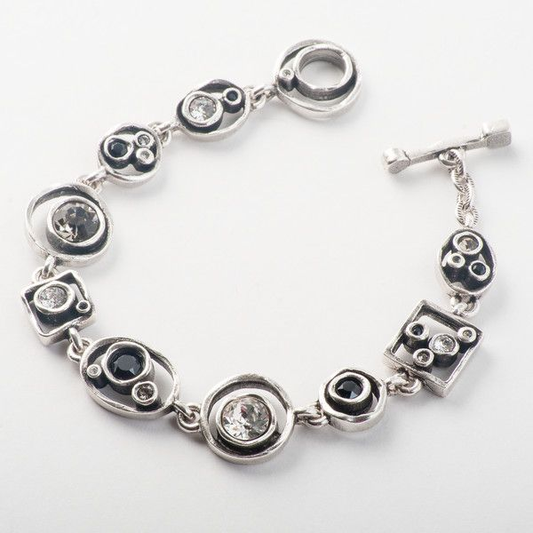Patricia Locke Penny Arcade Bracelet - Black & White