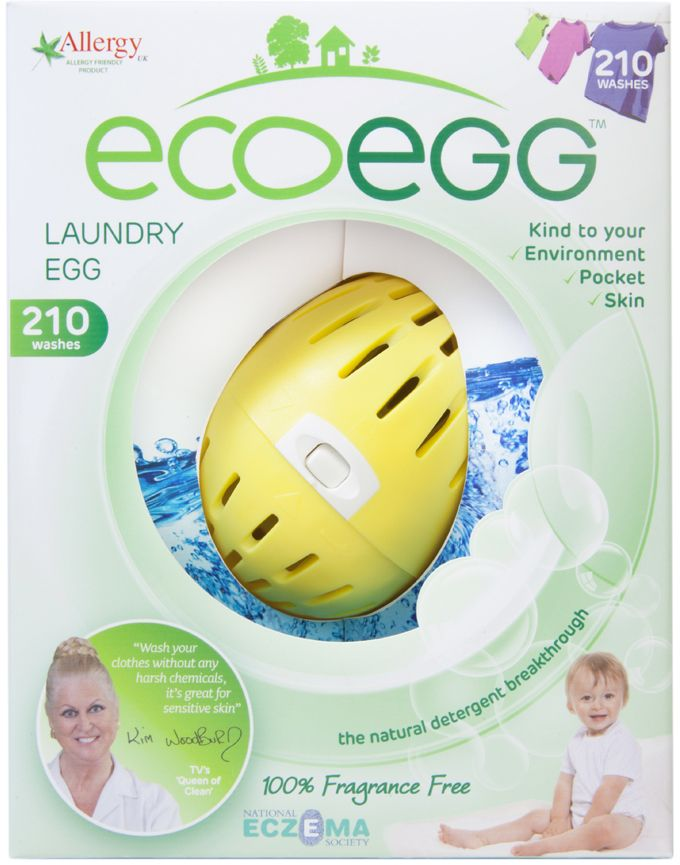 Laundry Egg 210 Wash Fragrance Free