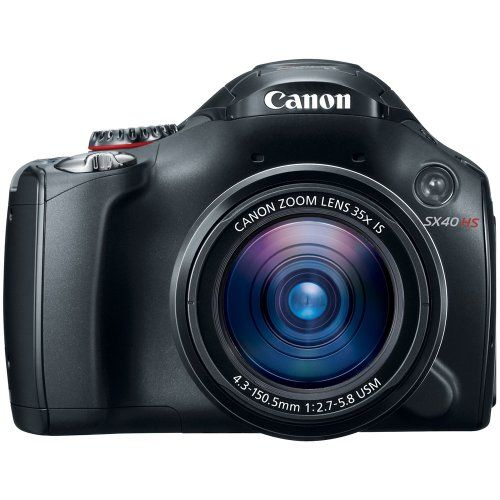 Canon SX40 HS 12.1MP Digital Camera with 35x Wide Angle Optical Image Stabilized Zoom and 2.7-Inch Vari-Angle Wide LCD Canon,http://www.amazon.com/dp/B005MTMFHU/ref=cm_sw_r_pi_dp_YstFtb0FZXBR0T1J