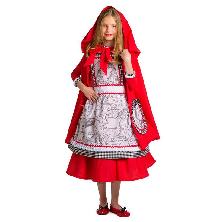 Disfraz Caperucita Roja para niña - Dresoop.es