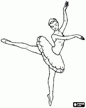 Malvorlagen Ballett Tänzer In Aktion Ausmalbilder Malen