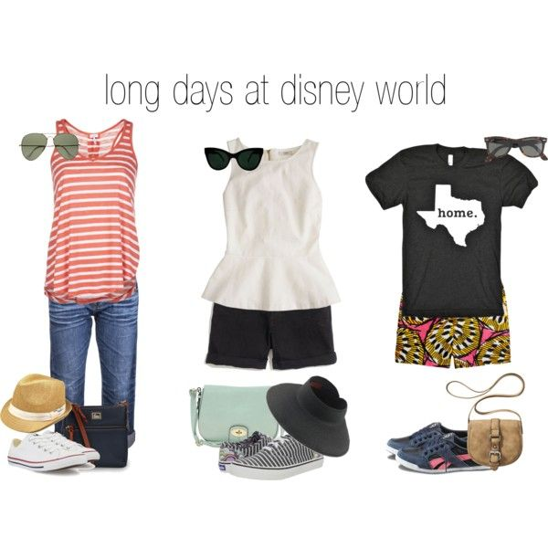 theme park (casual) style by cardiganjunkie, via Polyvore