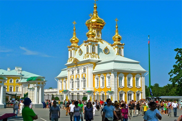 The Chapel Royal, The Peterhof Palace, St. Petersburg, Russia