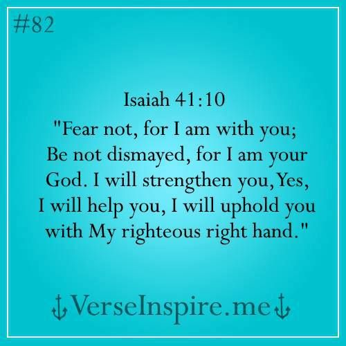 Always love bible verses from Isaiah.