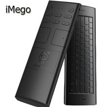 iMego M20 Wireless Mini Air Mouse Keyboard  3Axial  2.4G USB 10M Full Keys Fly Gaming Rechargeable Remote Control For Android TV