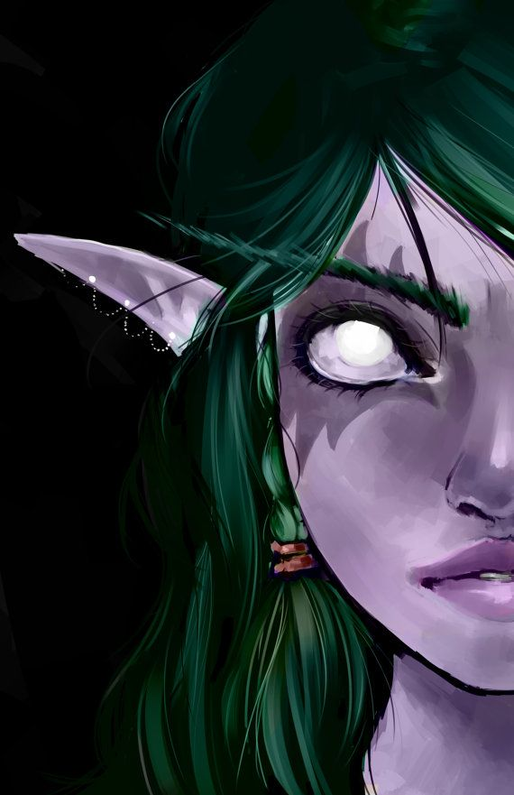 World of Warcraft - Night Elf Print