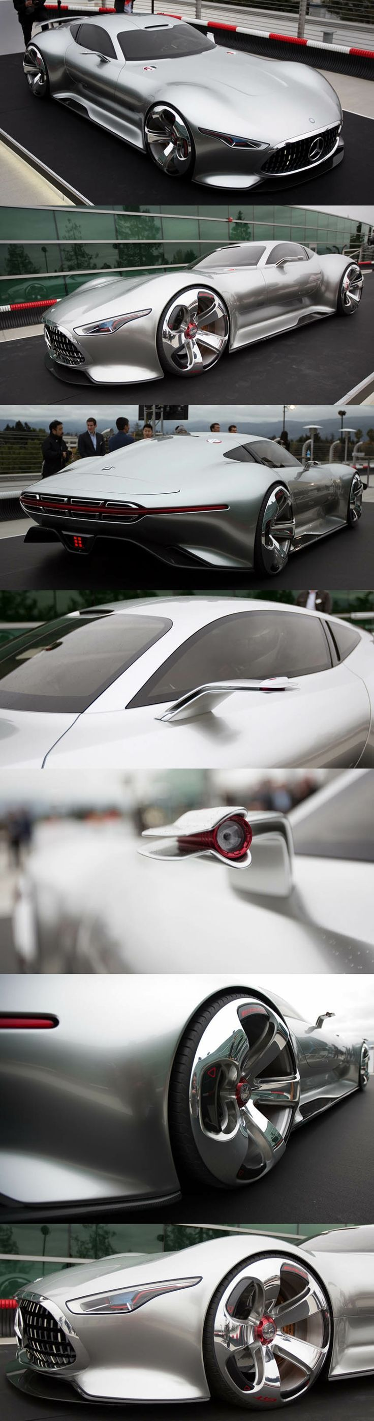 Captivating Mercedes AMG Vision Gran Turismo Concept Car For Future