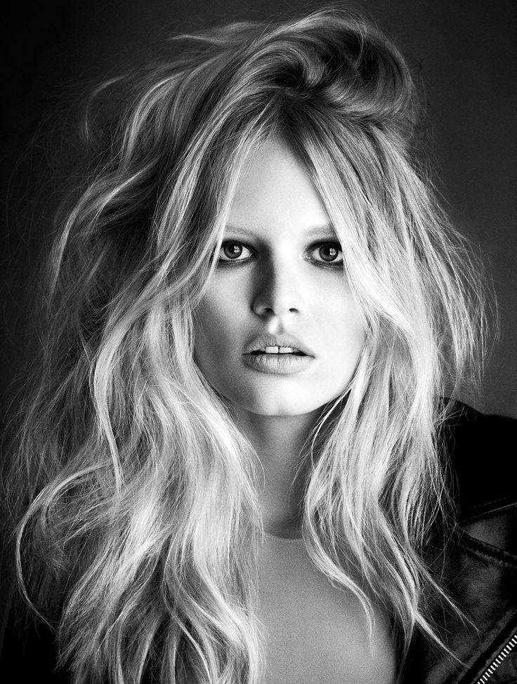 Anna Ewers for Exhibition Magazine, 2014 #hair #wavyhair #beauty