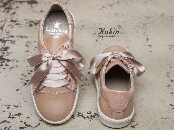 d0dc50ab2 deportivas-niña-rosas sneakers-niña-rosas calzado infantil - calzado  juvenil -