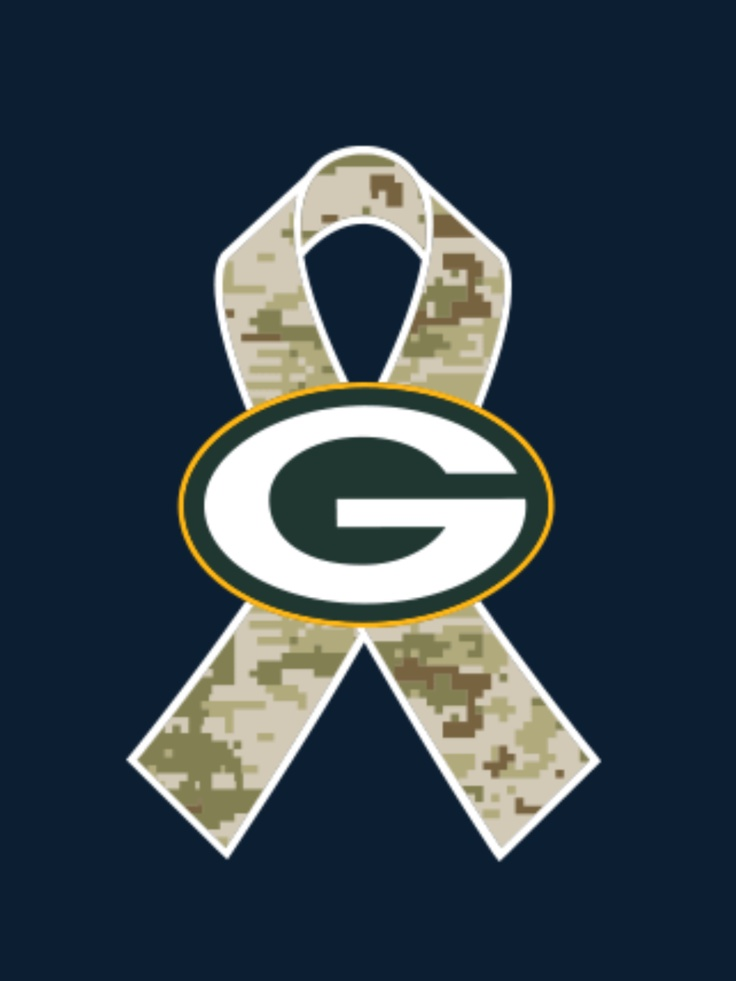 Love my Packers and the military!