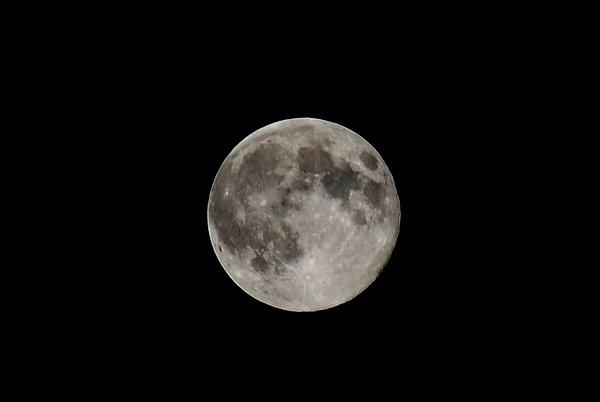 Full moon photograph