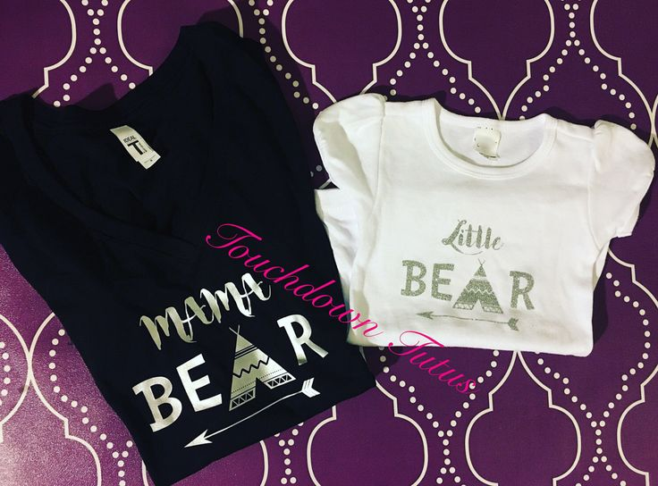 A personal favorite from my Etsy shop https://www.etsy.com/listing/503358119/little-bear-shirt