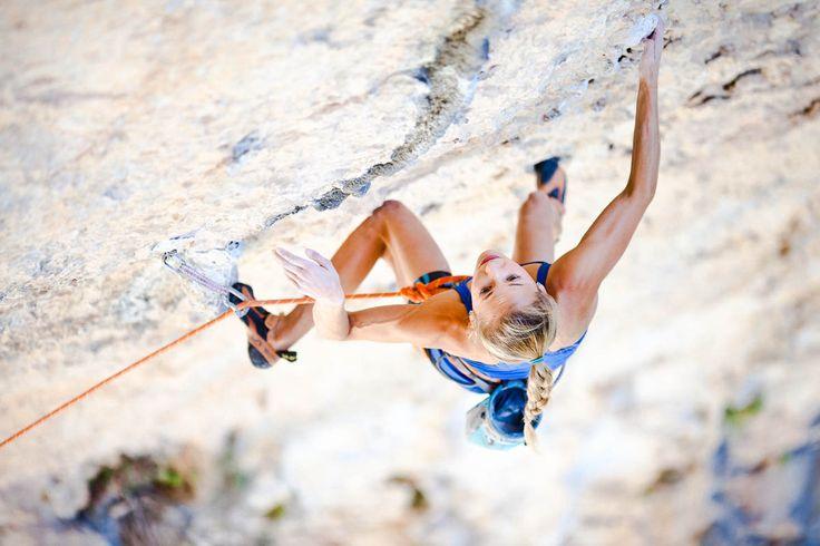 Sasha Digiulian; rock climbing is on my bucket list