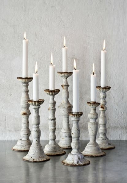 lookslikewhite Blog - #white candle holders  #swedish and #vintage