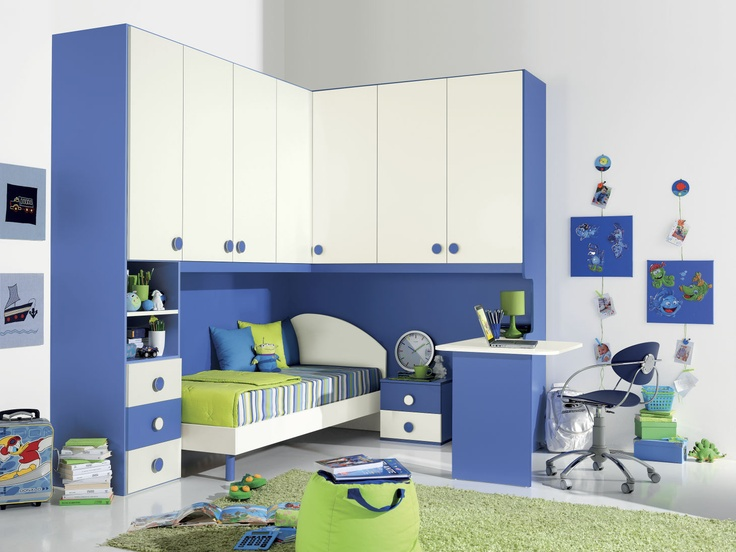 17 best camerette images on Pinterest | Child room, Baby rooms and ...