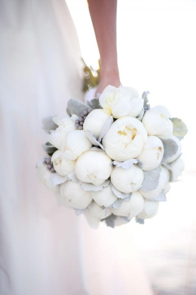 Een geweldig winters bruidsboeket!
