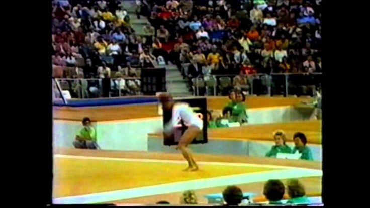 Olga Korbut 1972 Olympic Highlights