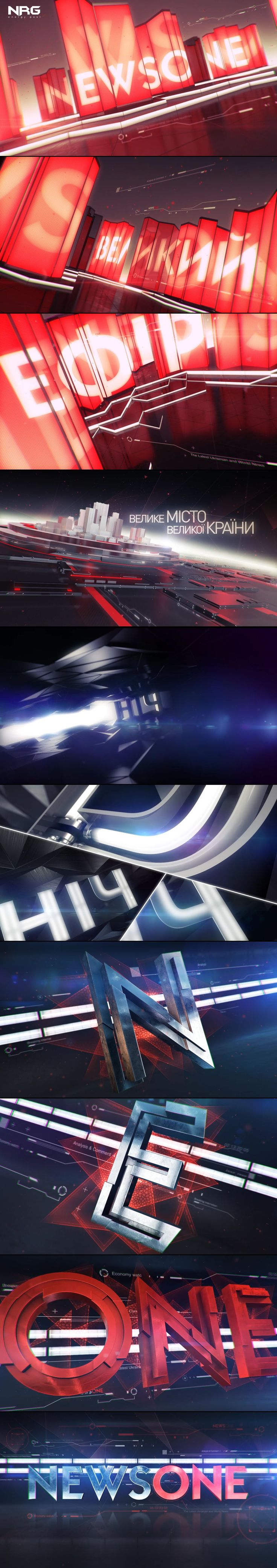 """Check out this @Behance project: """"NEWSONE / On-Air Design"""" https://www.behance.net/gallery/48605885/NEWSONE-On-Air-Design"""