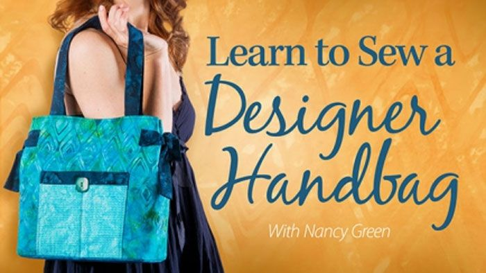 Learn to Sew a Designer Handbag: Online Sewing Class