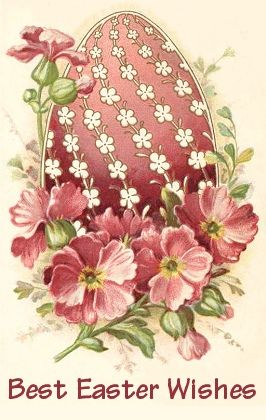Vintage Easter Wishes