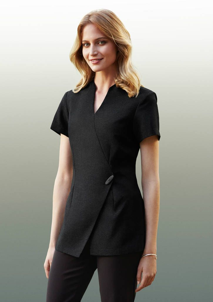 Ladies Spa Tunic Welborne Corporate Image Spa Uniform Beauty Tunics Uniform Fashion