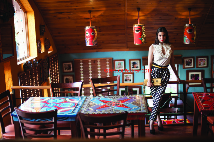 Model Zara Peerzada in the November 2013 issue of HELLO! Pakistan #Interiors #Style #Fashion #PersonalStyle