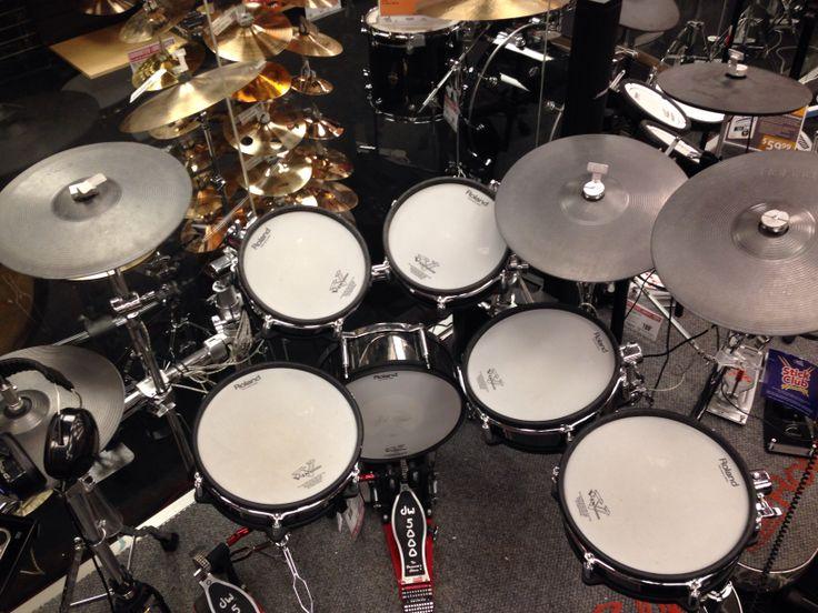662 best electric drums images on pinterest drum drum kit and drum kits. Black Bedroom Furniture Sets. Home Design Ideas