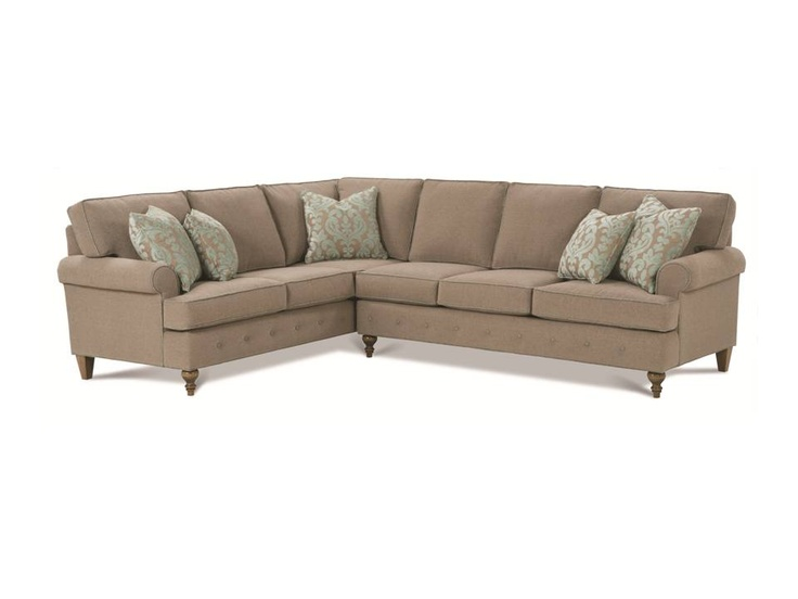The Gerrard Sectional  sc 1 st  Pinterest : sectionals for condos - Sectionals, Sofas & Couches