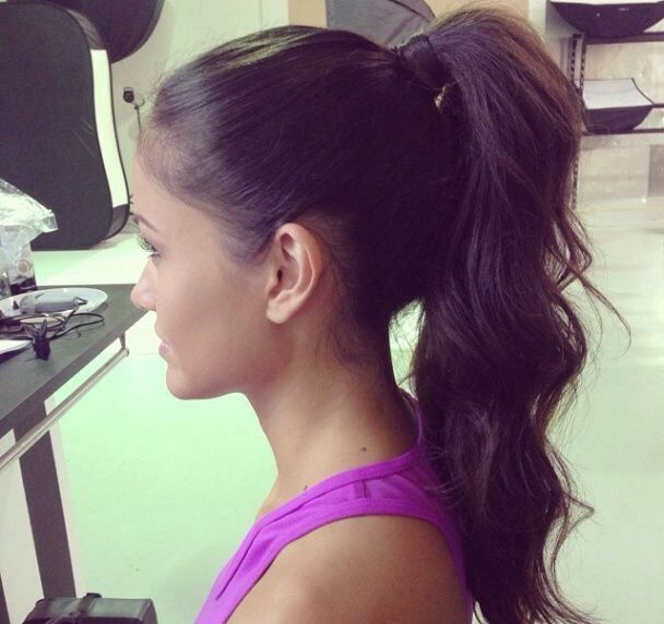 Magnificent 1000 Ideas About High Ponytail Hairstyles On Pinterest High Short Hairstyles For Black Women Fulllsitofus