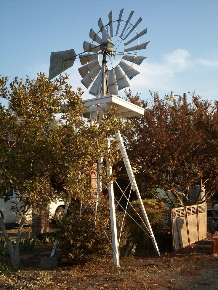 Windmill. Lindsay, California