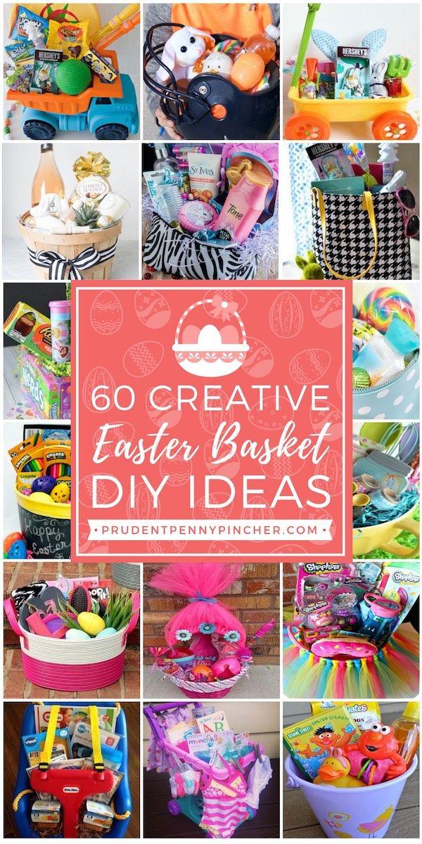 60 Best DIY Easter Basket Ideas | Easter Fun | Boys easter ...