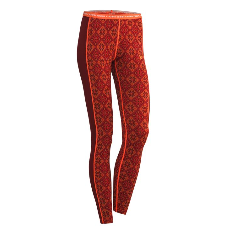 Super soft, warm and versatile the Kari Traa Rose Pants are a 100% merino wool base layer with a feminine cut and classy design. The 4-way stretch wool is soft to the skin, breathable and naturally odor-resistant.