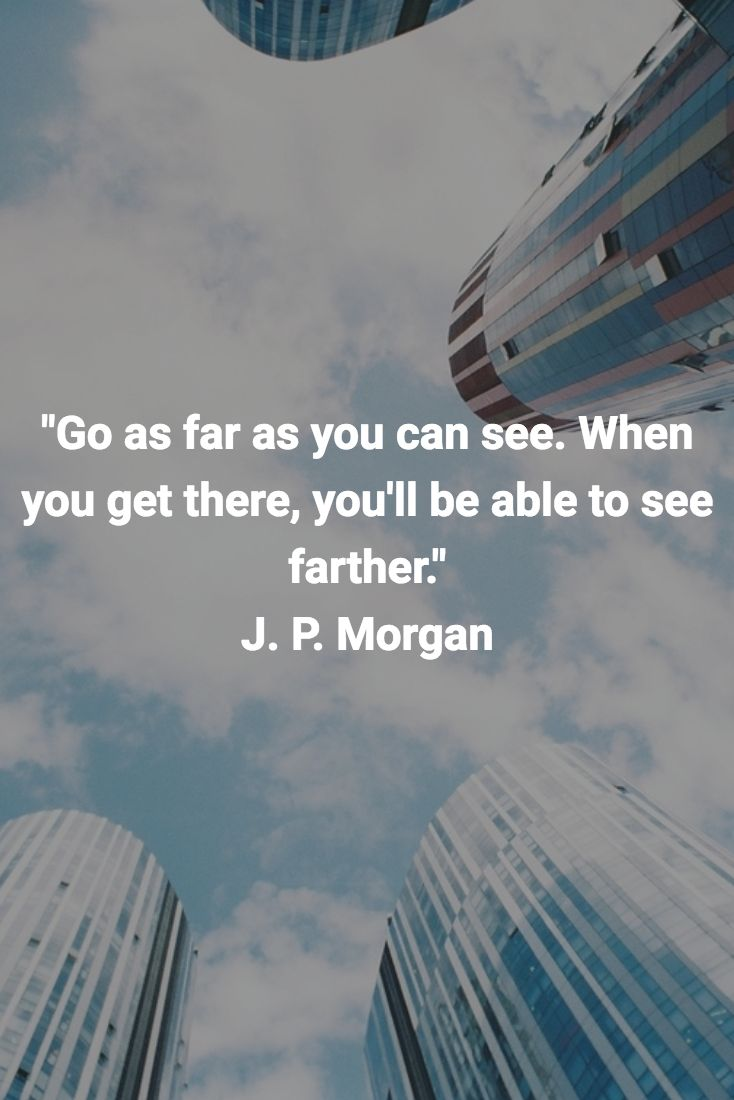 """Go as far as you can see. When you get there, you'll be able to see farther."" J. P. Morgan #mikestrawhat #pirateprofile"