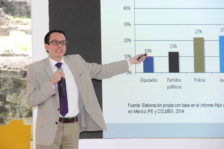 """El Mtro. León Acevez, Director General de la Escuela de Administración Pública fue otro de los ponentes invitados por el Oficial Mayor del GDF, Mtro. Edgar Armando González Rojas. Durante su intervención el director de la EAP enfatizó: """"Es inminente capacitar, certificar y profesionalizar a los servidores públicos""""."""