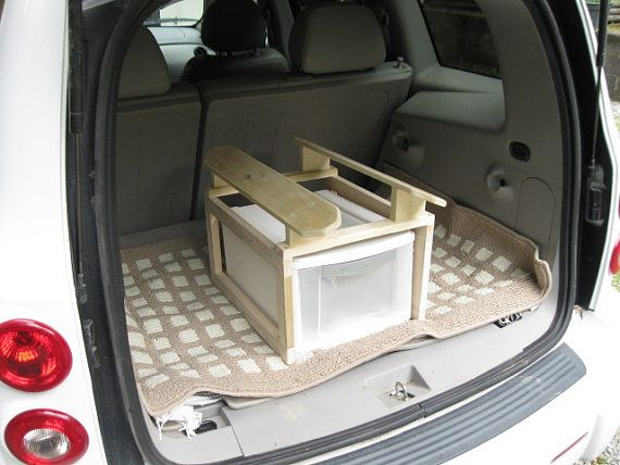 Portable Saddle Rack for Car by Penrosewoodworking on Etsy