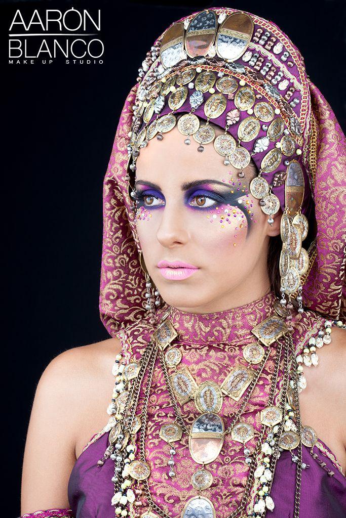 AARONBLANCO100 Maquillaje de fantasía, Moros y