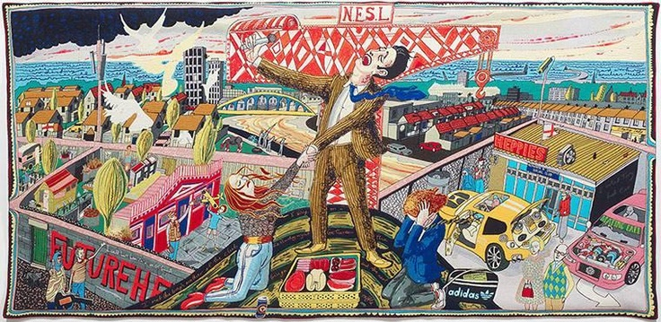 A touch of class Grayson Perry's tapestries in pictures