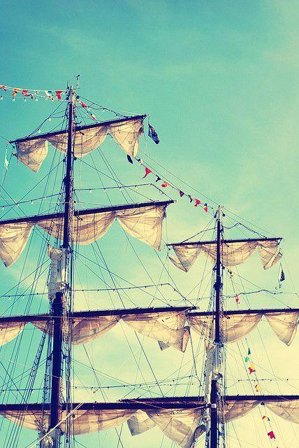 let's sail away: Photos, Anchors Aweigh, Sailing Ships, Pirates Life, Tall Ships, Boats, Sea, Sailing Away, Photography