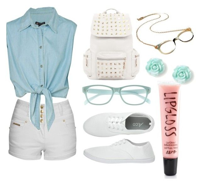 I <3 nerd by omgispolyvore on Polyvore featuring moda, Jane Norman, Corinne McCormack and Aéropostale