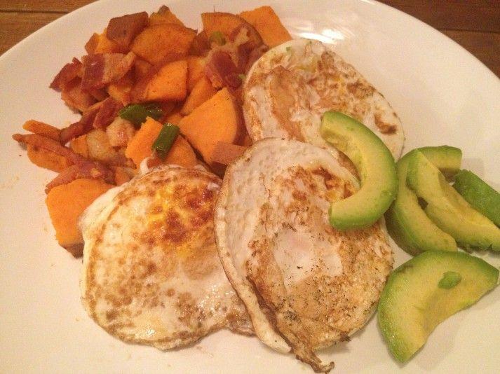 ... Bacon   Recipes : Food   Pinterest   Sweet Potato Hash, Potato Hash