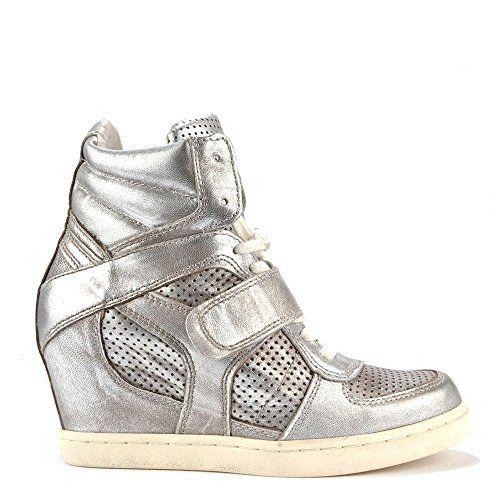 Ash Schuhe Cool Ter Keil-Sneakers aus Leder, Damen - http://on-line-kaufen.de/ash-2/ash-schuhe-cool-ter-keil-sneakers-aus-leder-damen